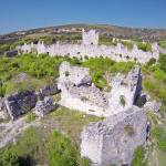 Templar fortress on Vrana